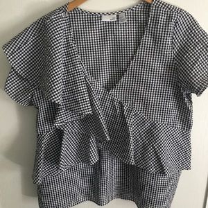 14th & Union Gingham top